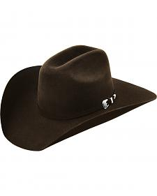 Master Hatters Men's Brown Outrider 7X Felt Hat