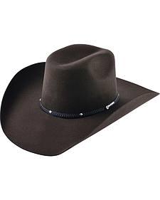 Ram Men's Chocolate Adult Wool Cowboy Hat