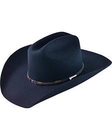 Ram Men's Black Adult Wool Cowboy Hat