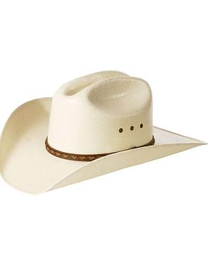 Justin Morgan Straw Cowboy Hat
