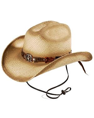 Bulllhide Star Central Straw Cowboy Hat
