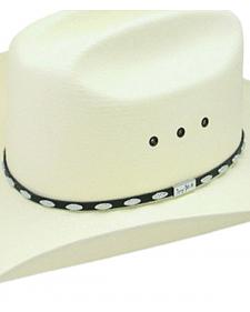Resistol George Strait Silver Eagle Straw Cowboy Hat