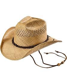 Shady Brady Jon Bon Jovi Straw Cowboy Hat