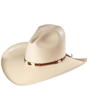 Resistol 4X Cisco Straw Cowboy Hat
