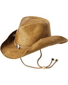 Pinchfront Straw Cowboy Hat