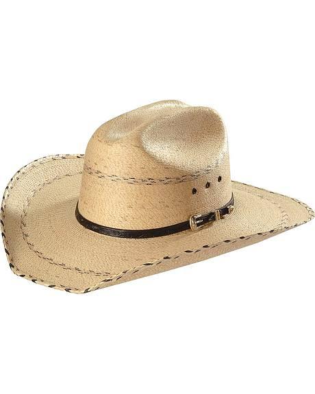 Kenny Chesney Palm Straw Cowboy Hat