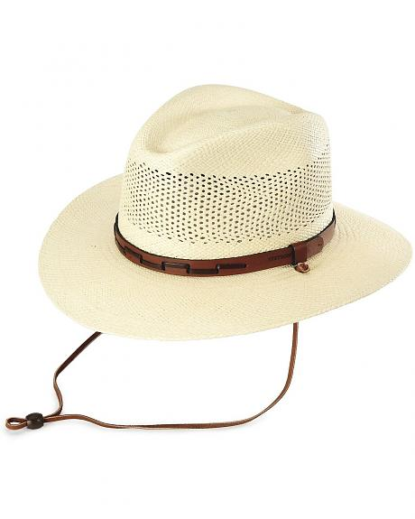 Stetson Airway UV Protection Straw Hat