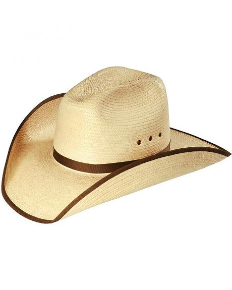 Larry Mahan Sunset Palm straw western hat