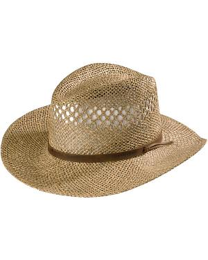 Stetson Dove Mountain UV Protection Seagrass Straw Hat
