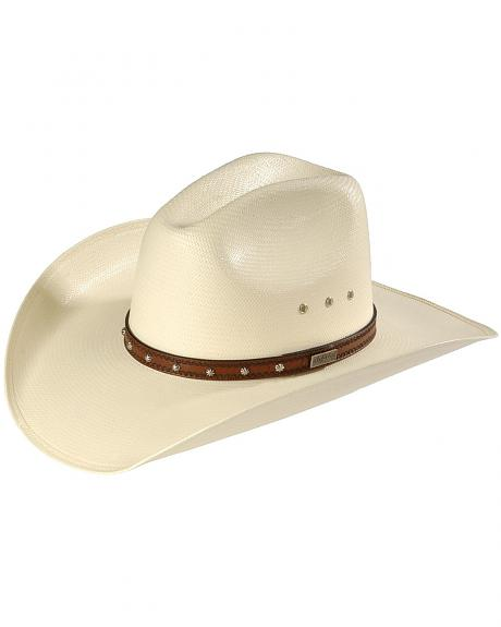 Larry Mahan Browning 10X Straw Cattleman Cowboy Hat