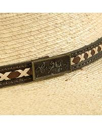 Larry Mahan 30X Pancho Gus Palm Straw Western Hat at Sheplers