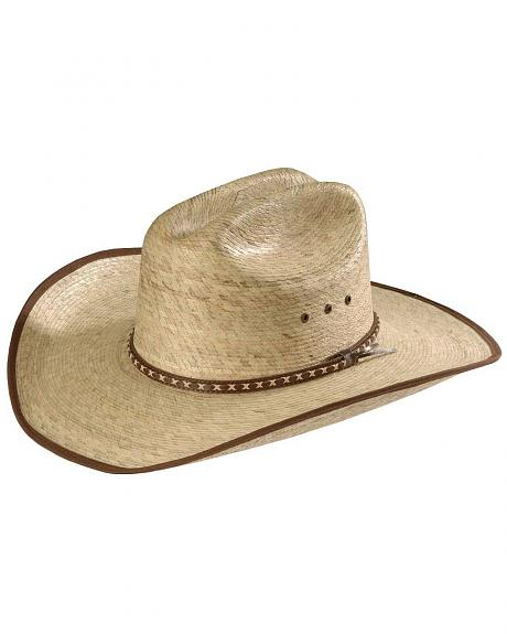 Straw Cowboy Hats For Men Palm Straw Cowboy Hat