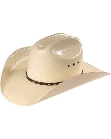 Justin Trent 20X Straw Cowboy Hat