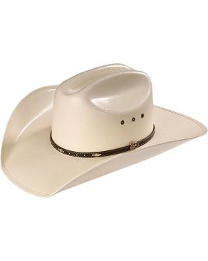 Justin 20X Black Hills Straw Cowboy Hat
