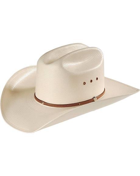 Resistol 8X George Strait Kingwood Straw Cowboy Hat