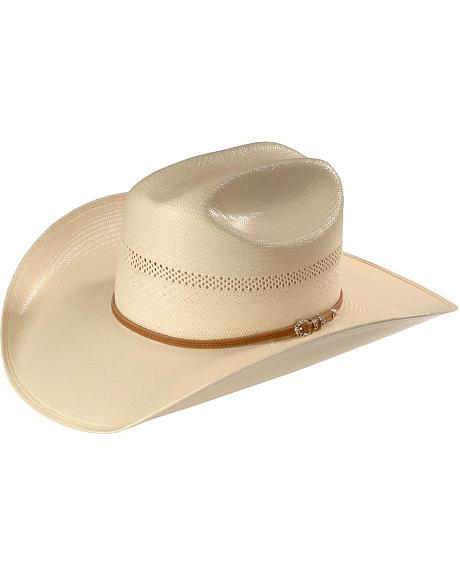 Larry Mahan 10X Good Ride Straw Cowboy Hat