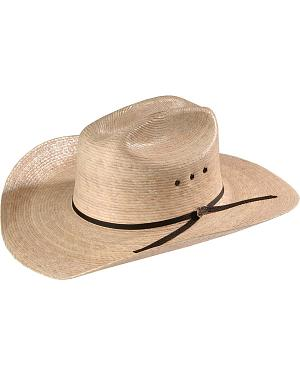 Justin 20X Brush Hog Palm Straw Western Hat