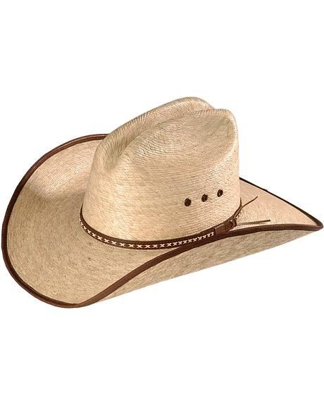 Resistol Jason Aldean Hicktown Straw Cowboy Hat