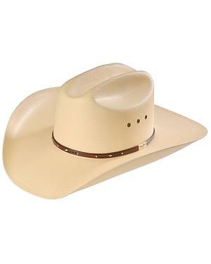 Resistol George Strait Palo Duro 8X Straw Cowboy Hat