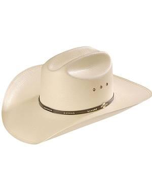 Stetson Llano 10X Straw Cowboy Hat