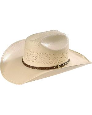 Larry Mahan 10X Gold Star Straw Hat