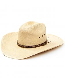 Larry Mahan 30X Lawton Palm Straw Cowboy Hat