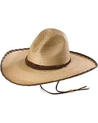 Larry Mahan 30X Cherokee Sloped Straw Cowboy Hat at Sheplers