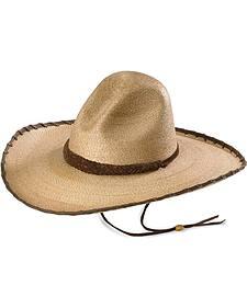 Larry Mahan 30X Cherokee Sloped Straw Cowboy Hat