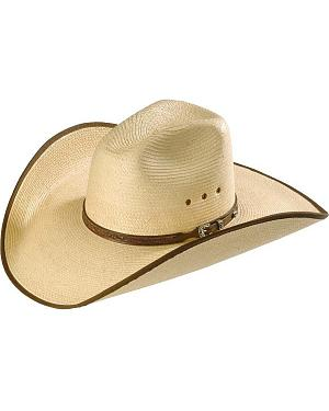 Larry Mahan Guatemalan Palm Straw Cowboy Hat