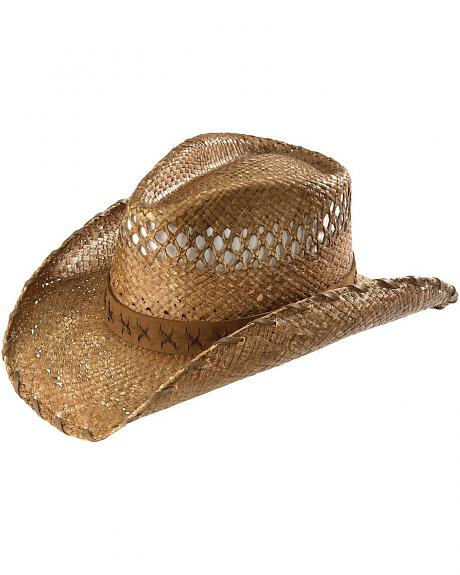 Kenny Chesney Raffia Straw Cowboy Hat