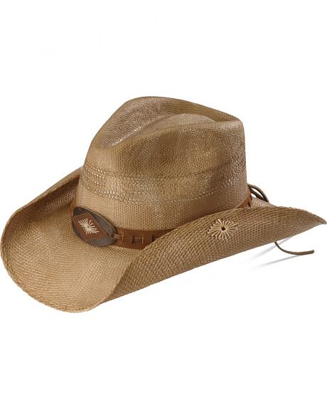 Kenny Chesney Bangora Straw Cowboy Hat