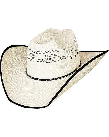 Bullhide Beer Time Bangora Straw Cowboy Hat