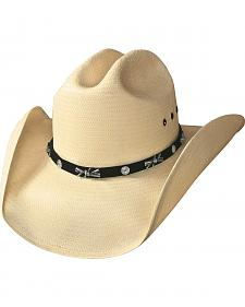 Bullhide I Just Wanna be Shantung Panama Straw Cowboy Hat