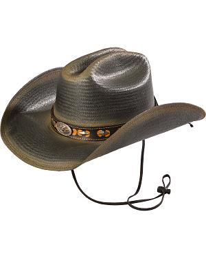 Little Big Horn Shantung Panama Straw Hat