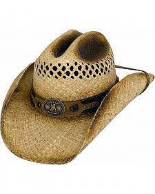 Bullhide Shut Up & Ride Raffia Straw Cowboy Hat