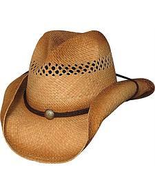 Bullhide Blaze Raffia Straw Cowboy Hat