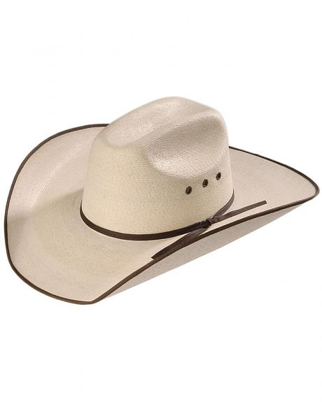 5X Hereford Straw Cowboy Hat