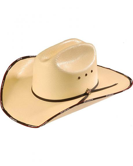 PBR Bound Straw Cowboy Hat