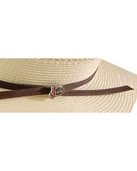 Justin 20X Mesquite Palm Leaf Straw Cowboy Hat at Sheplers