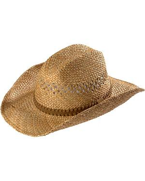 Scala Seagrass Straw Cowboy Hat
