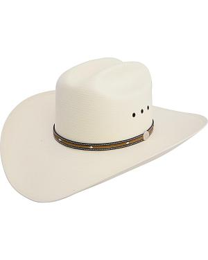 Resistol Beaumont 10X Shantung Straw Cowboy Hat