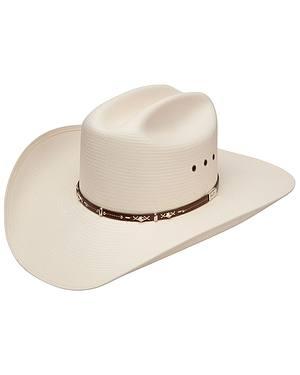 Resistol George Strait Hazer 10X Shantung Straw Cowboy Hat