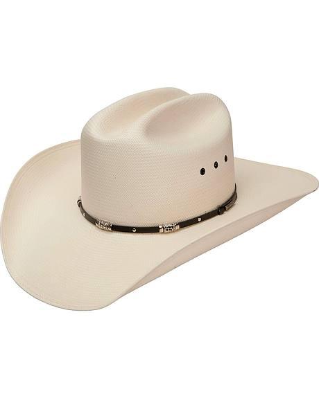 Stetson Blackfoot 10X Shantung Straw Cowboy Hat