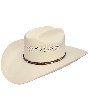Stetson Deming 10X Shantung Straw Cowboy Hat