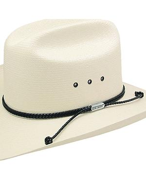 Stetson Carson 10X Shantung Straw Cowboy Hat