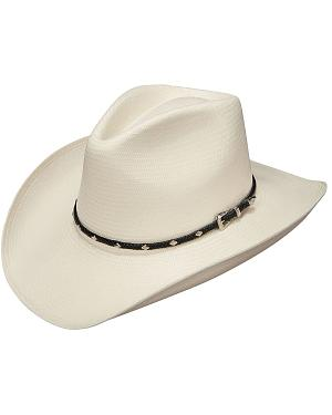Stetson Diamond Jim 8X Shantung Straw Cowboy Hat