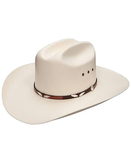 Stetson Eagle Pass 10X Shantung Straw Cowboy Hat