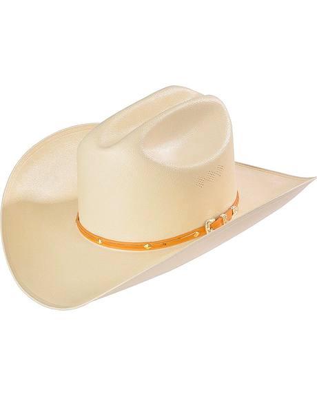 Larry Mahan 15X Castillo Straw Cowboy Hat