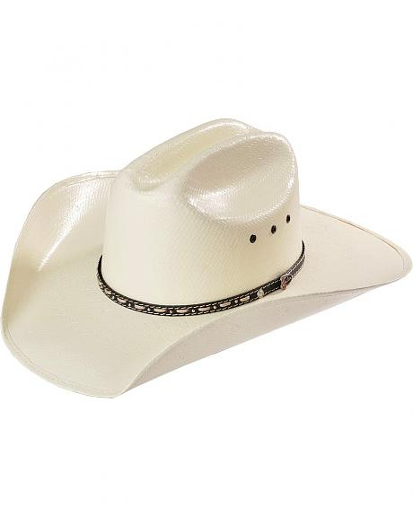 Justin 10X Hondo with Rope Lacing & Studs Straw Cowboy Hat