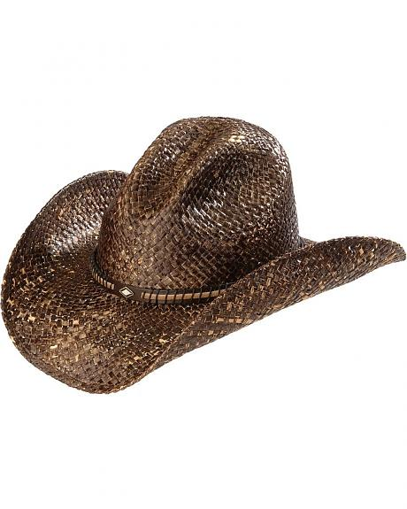 Scala Gus Chocolate Straw Hat